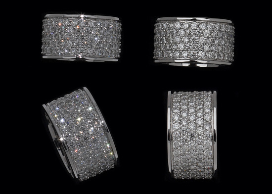 Custom Diamond Band Bling Bling