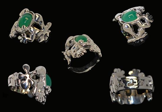 Custom Frog Ring